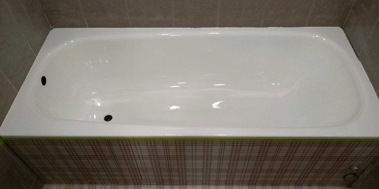 реставрация чугунных ванн цены