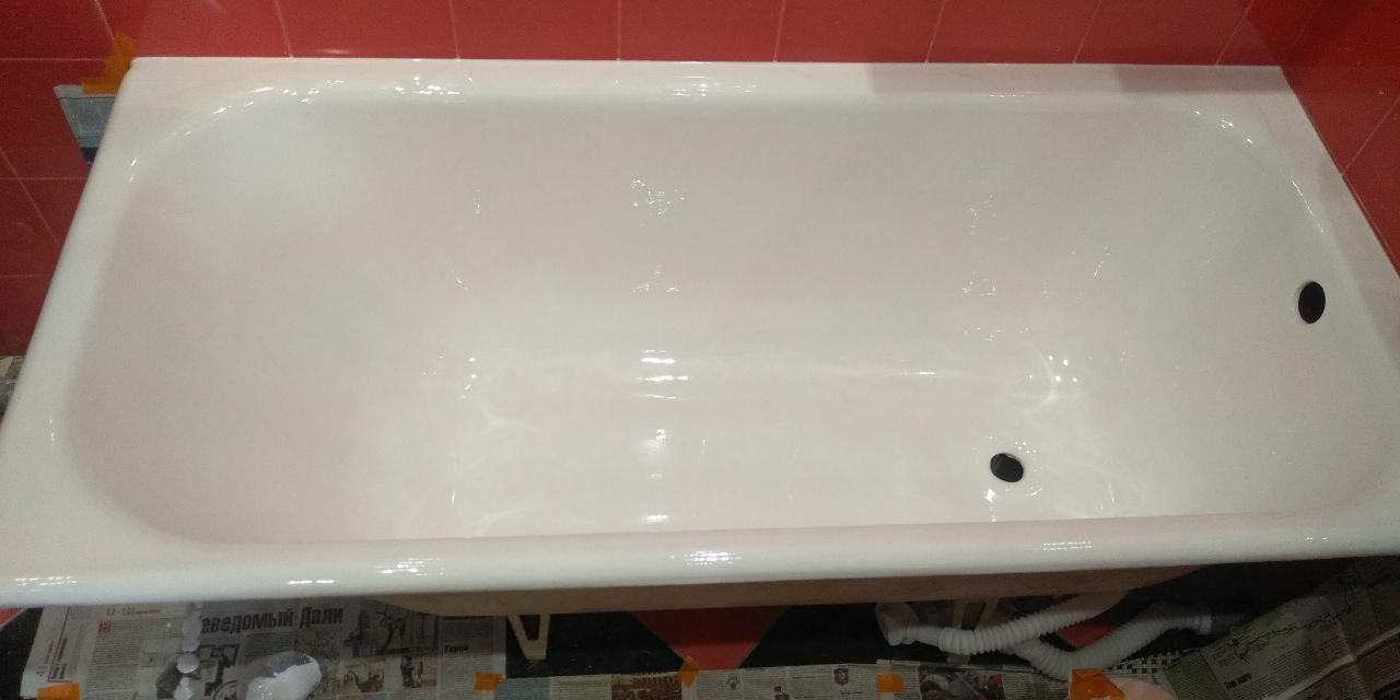 реставрация чугунной ванны цены