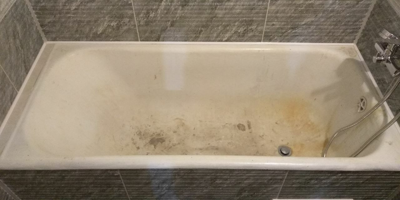 реставрация чугунной ванны фотографии